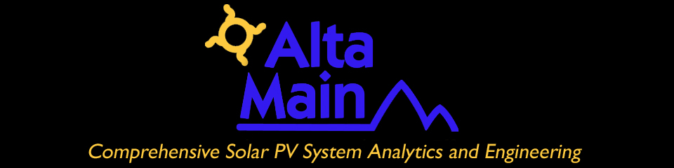 Altamain Consulting PV Modeling